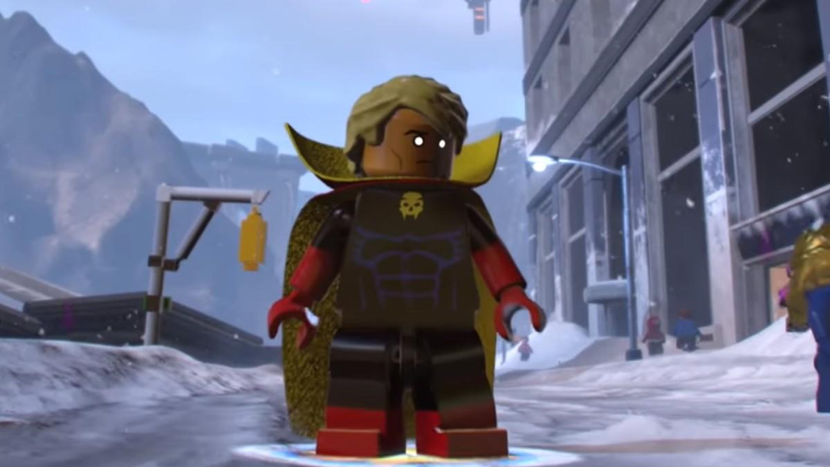 LEGO Marvel Super Heroes 2 Adam Warlock Minifigure Featured