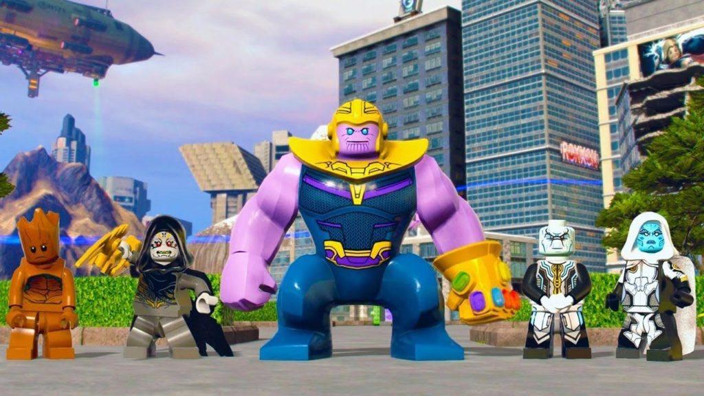 LEGO Marvel Super Heroes 2 screenshot Thanos Groot