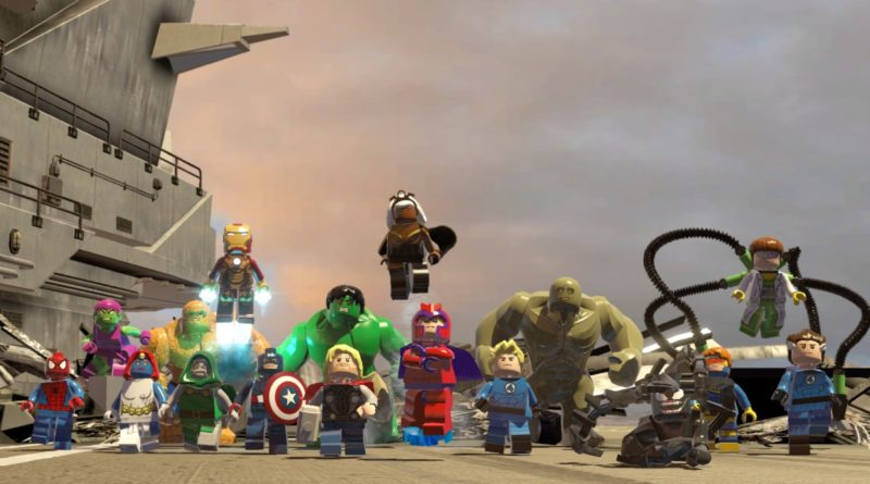LEGO Marvel Super Heroes Nintendo Switch featured