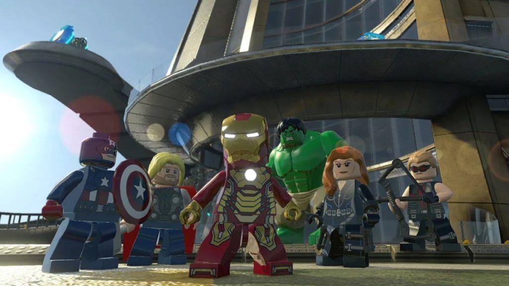 LEGO Marvel Super Heroes Nintendo Switch screenshot Avengers