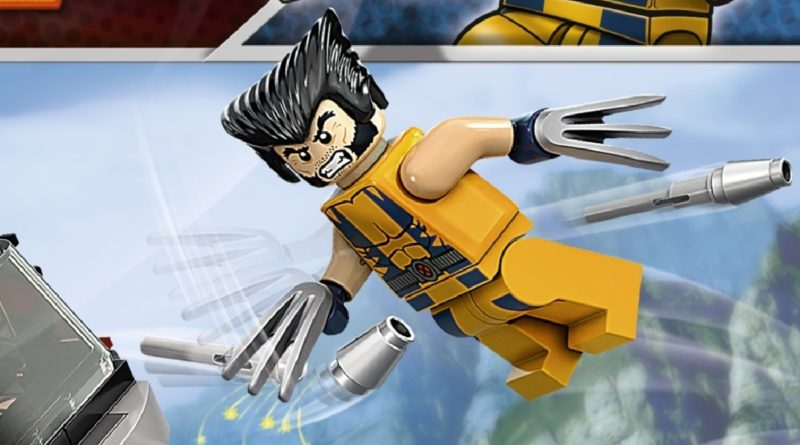 LEGO Marvel Wolverine minifigure 6866 Wolverines Chopper Showdown box art featured