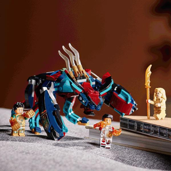 LEGO Marvel eternals 76154 Deviant Ambush lifestyle 2