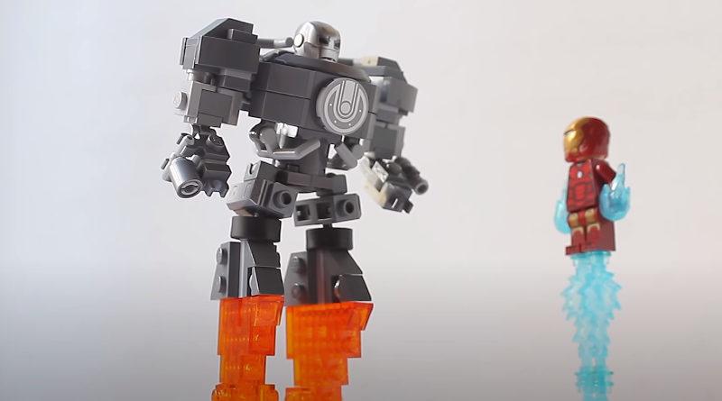 LEGO Marvel miniature Iron Monger