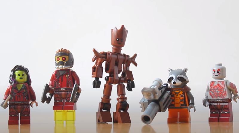 LEGO Marvel Minifigure Scale Groot Hachiroku24 Featured