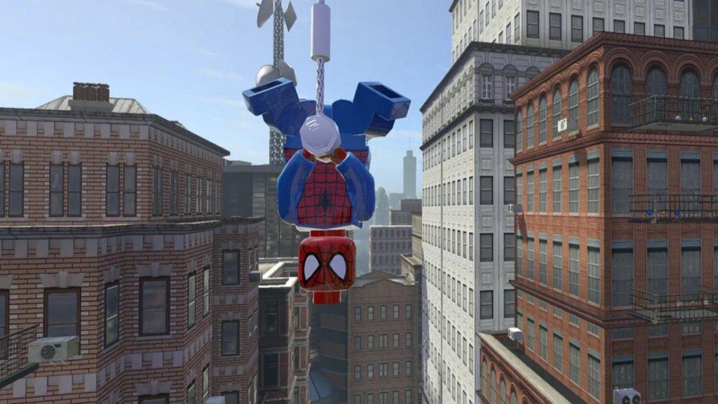 LEGO Marvel super heroes Nintendo Switch Screenshot Spider man