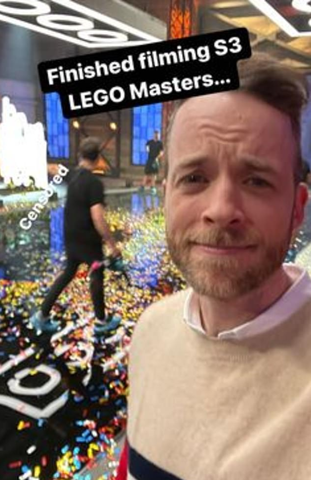 LEGO Masters Season 3 Hamish Blake Featured