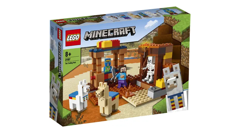 LEGO Mine Craft 21167 The Trading Post Featured