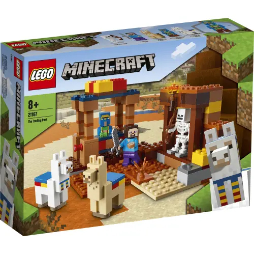 LEGO Mine Craft 21167 The Trading Post