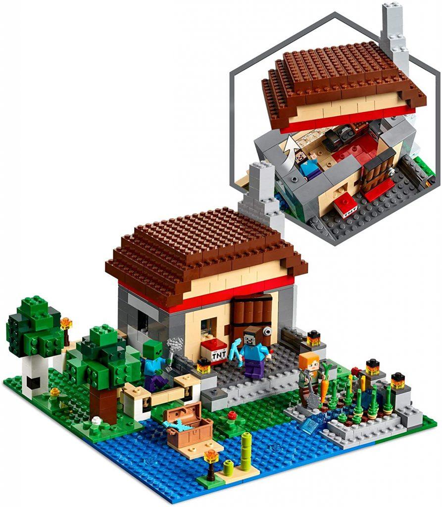 LEGO Minecraft 21161 The Crafting Box 3