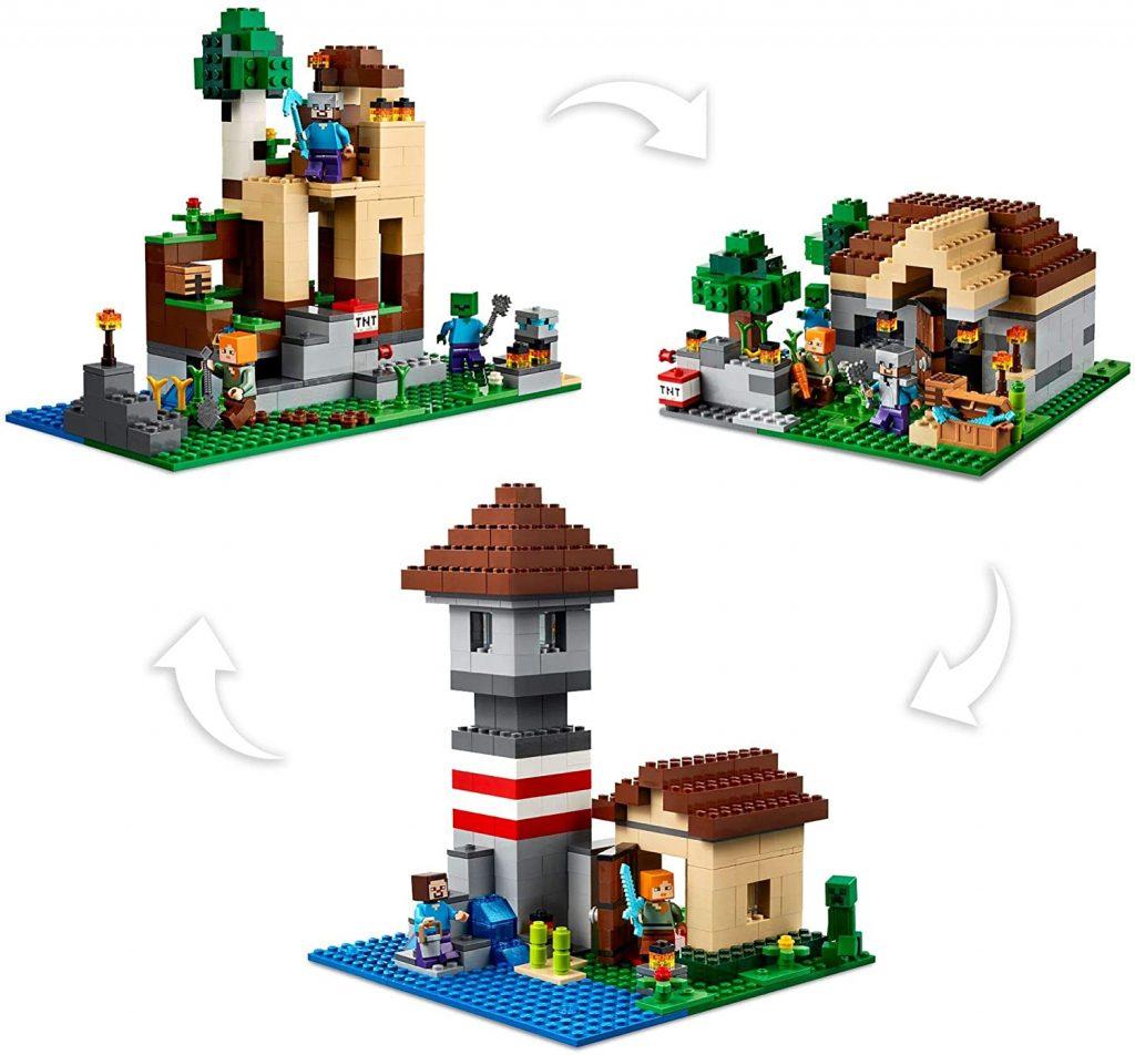LEGO Minecraft 21161 The Crafting Box 4