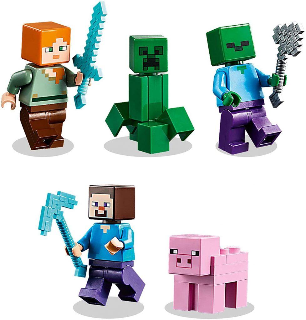 LEGO Minecraft 21161 The Crafting Box 7