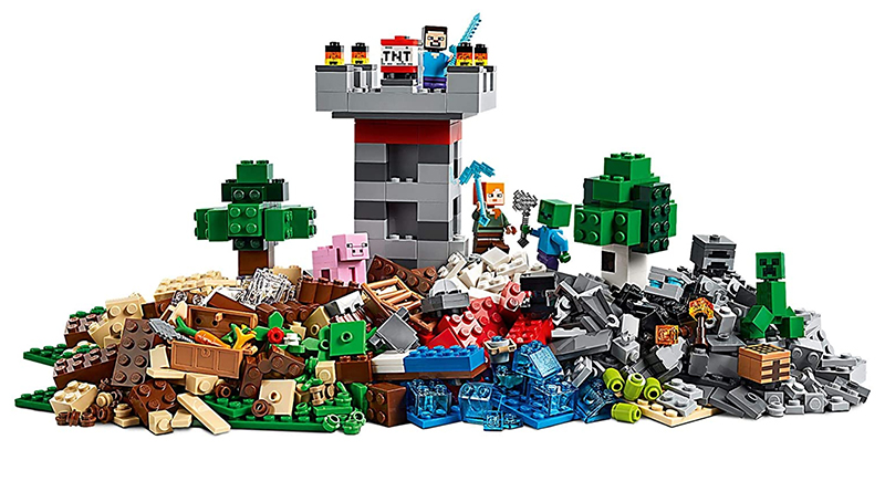 LEGO Minecraft 21161 The Crafting Box Featured