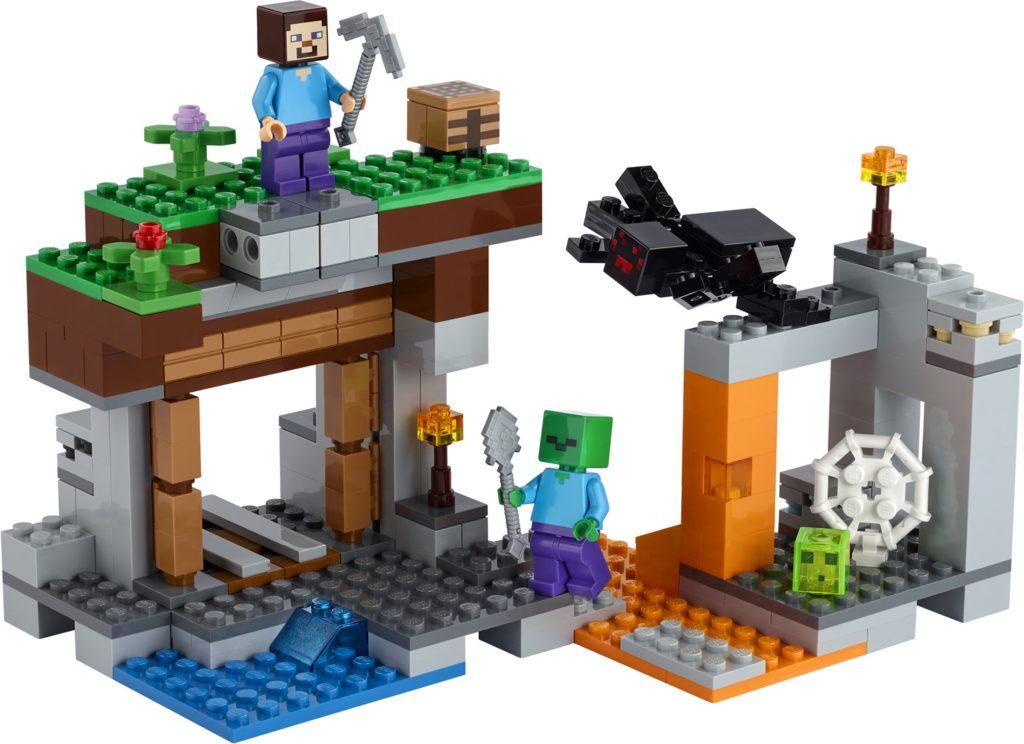 LEGO Minecraft 21166 The Abandoned Mine 2