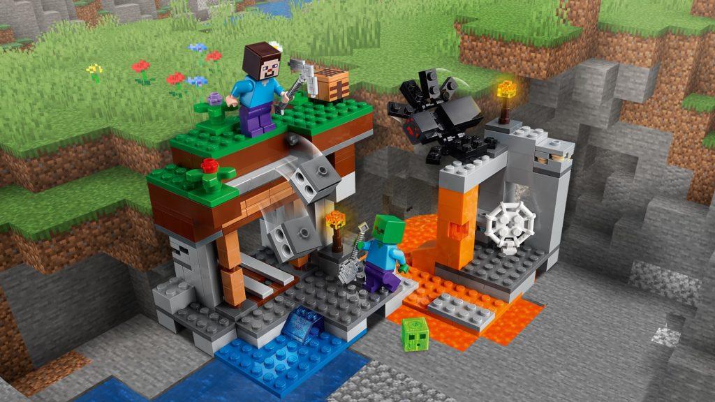 LEGO Minecraft 21166 The Abandoned Mine 3