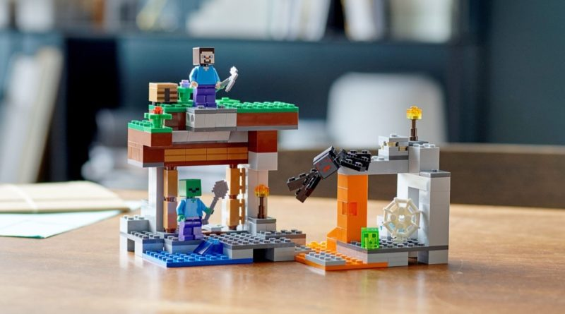 LEGO Minecraft 21166 The Abandoned Mine featured