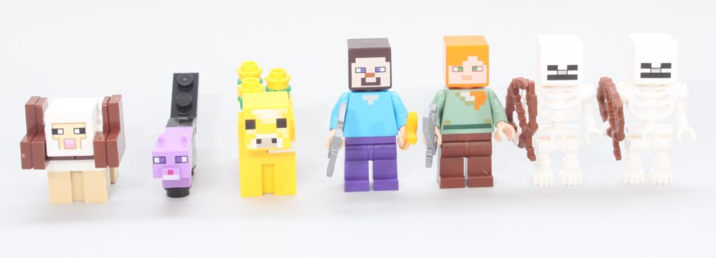 LEGO Minecraft 21169 The First Adventure Review 8