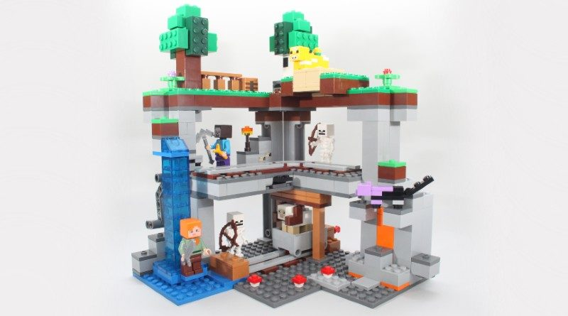 LEGO Minecraft 21169 The First Adventure review featured