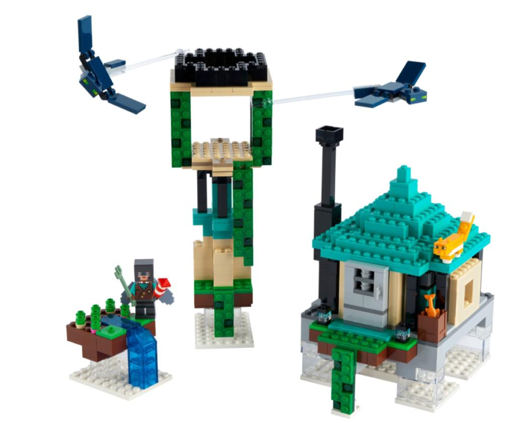 LEGO Minecraft 21173 The Sky Tower မှာတင်ပေးထားတာပါ