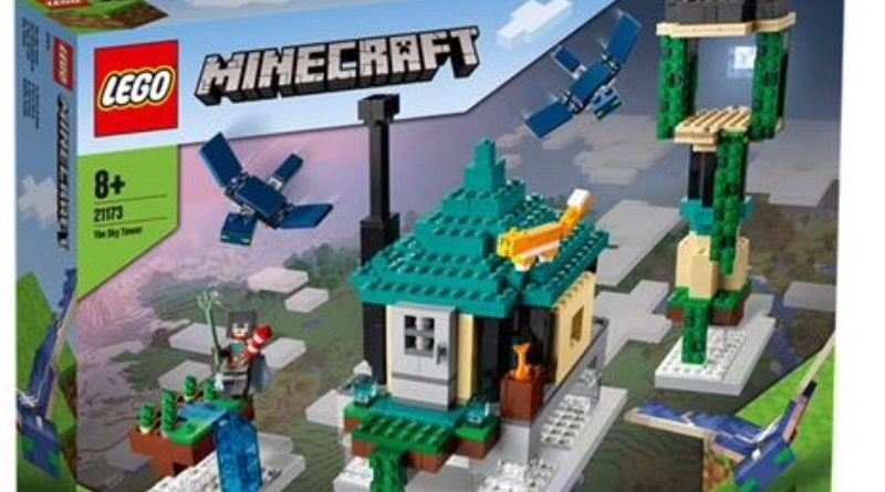 LEGO Minecraft 21173 The Sky Tower featured