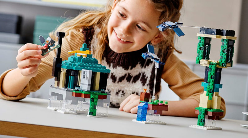 LEGO Minecraft 21173 The Sky Tower lifestyle featured