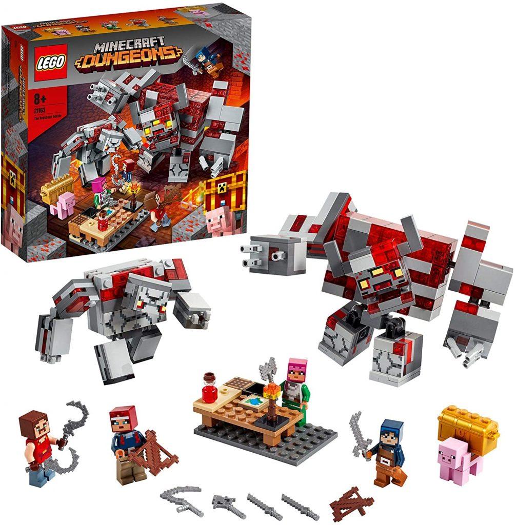 LEGO Minecraft Dungeons 21163 The Redstone Battle 1 1004x1024