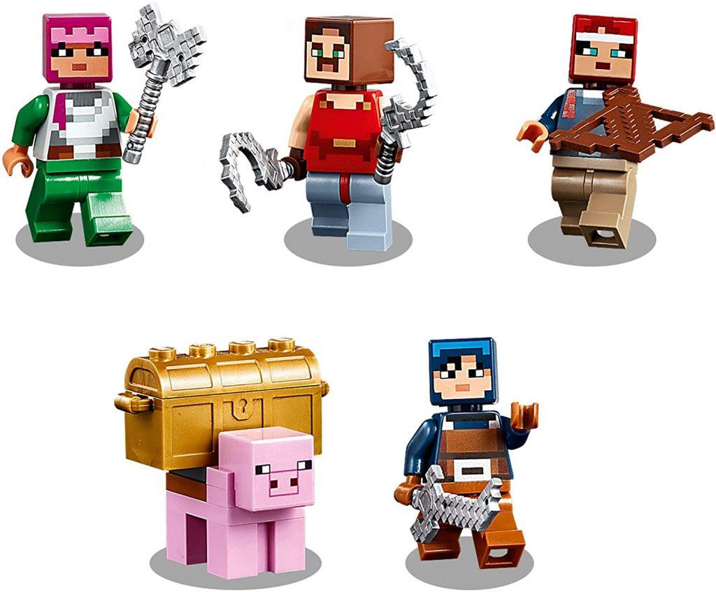 LEGO Minecraft Dungeons 21163 The Redstone Battle 5 1024x847