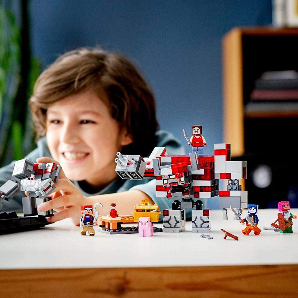 LEGO Minecraft Dungeons 21163 The Redstone Battle 6 1024x1024