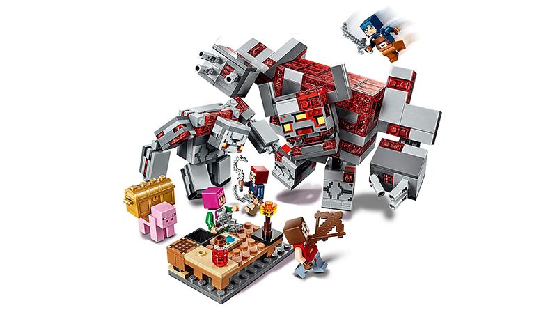 LEGO Minecraft Dungeons 21163 The Redstone Battle Featured