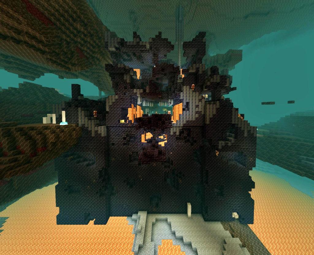 LEGO Minecraft Nether Bastion
