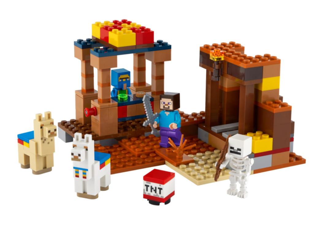 LEGO Minecraft Trading Post