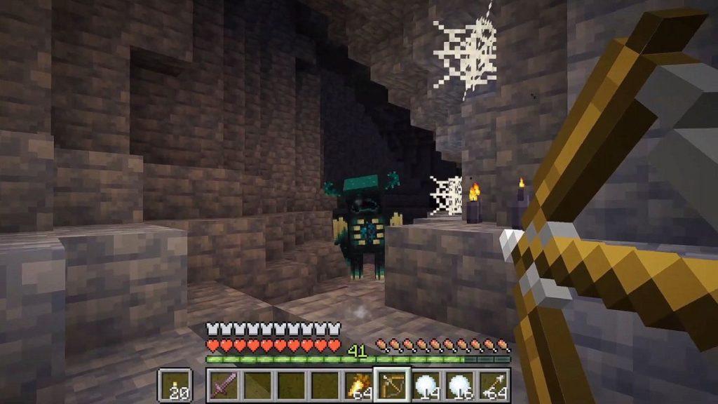 LEGO Minecraft Deep Dark Warden