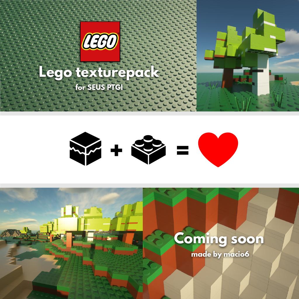 LEGO Minecraft Texture Pack 1024x1024