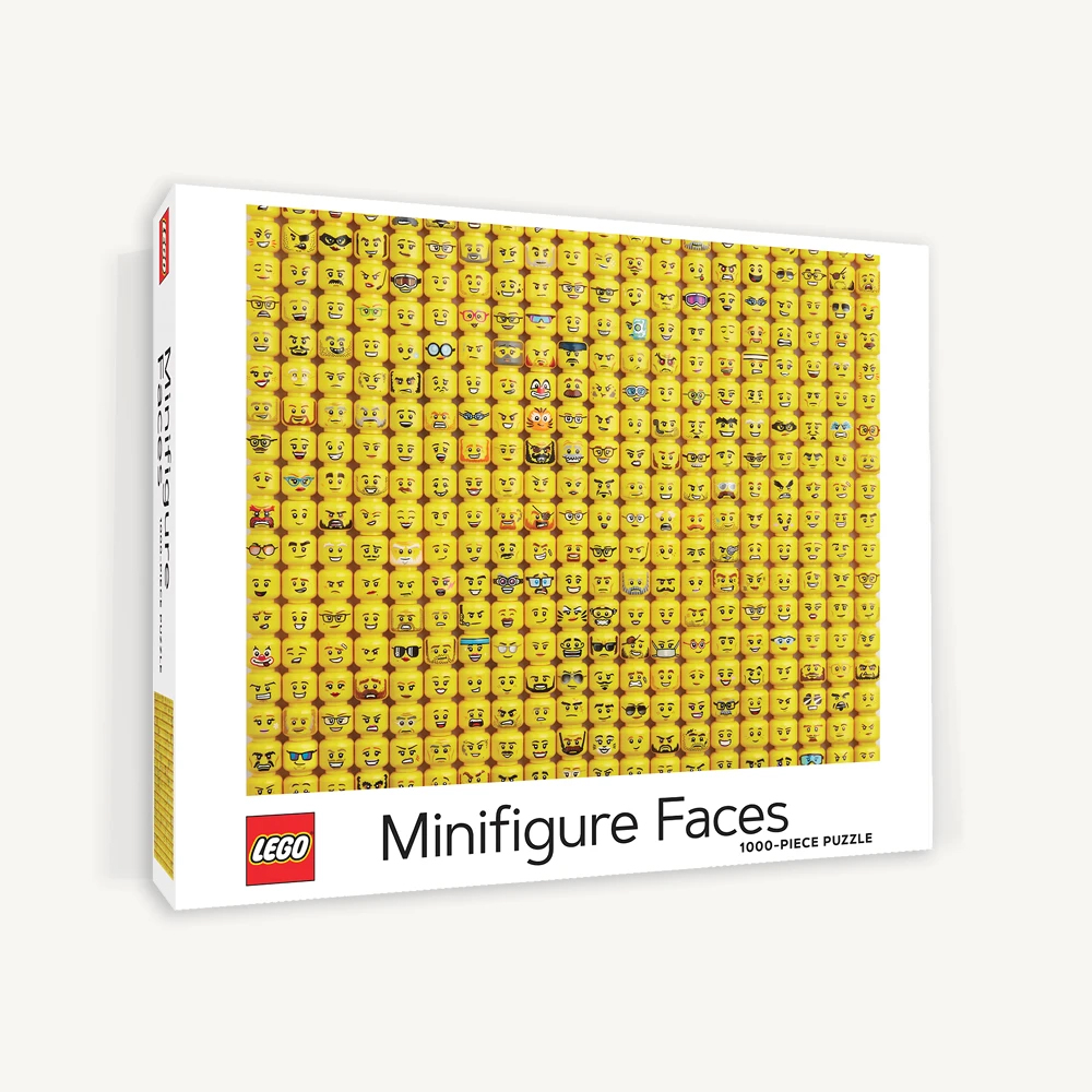 LEGO Minifigure Faces Jigsaw