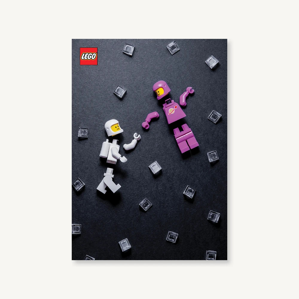 LEGO Minifigure Notebook