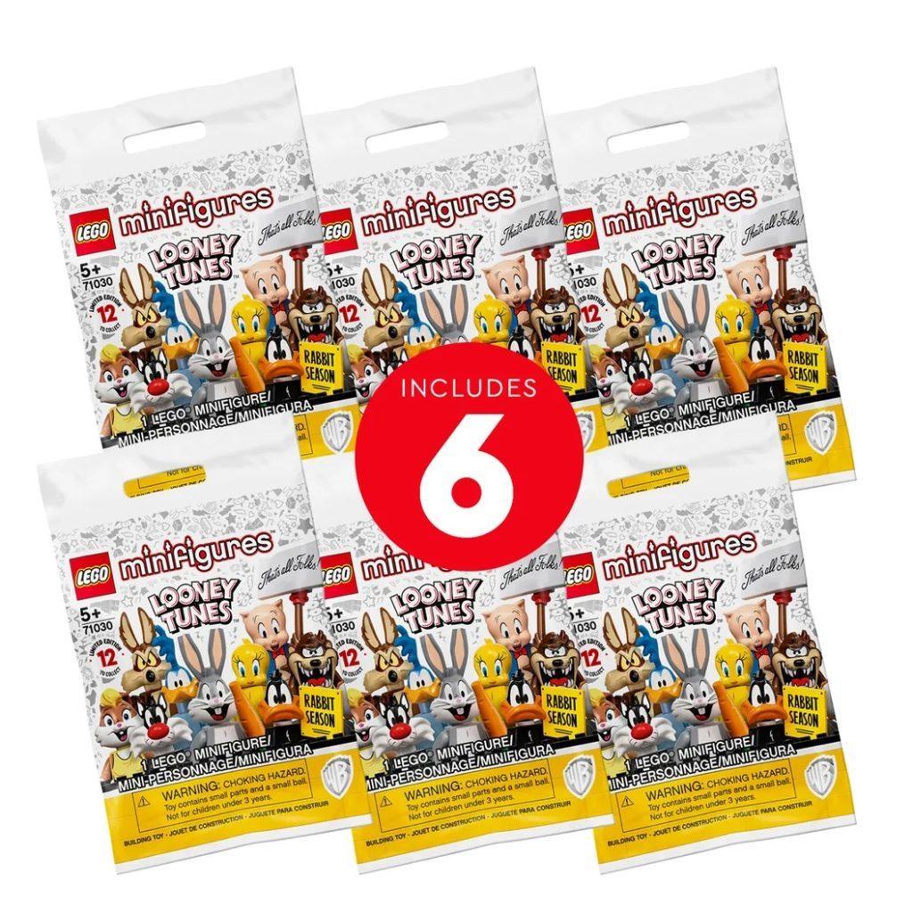 LEGO Minifigures 66667 Looney Tunes – 6 Pack 1024x1024