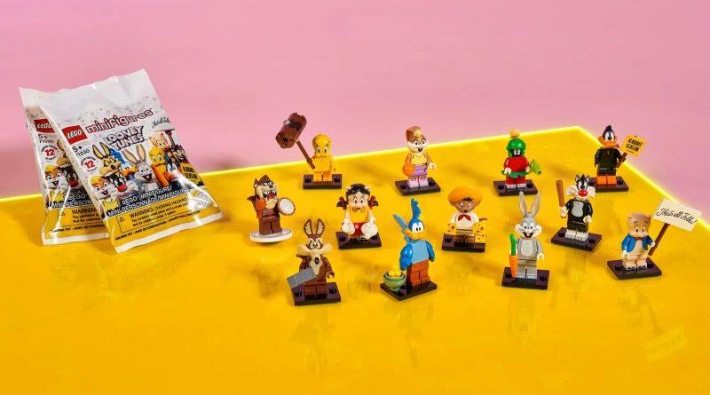 LEGO Minifigures 71030 Looney Tunes Lifestyle Featured 800x445