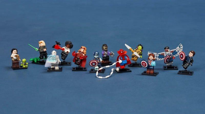 LEGO Minifigures 71031 Marvel Studios featured