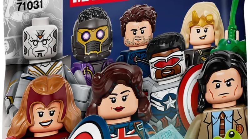 LEGO Minifigures 71031 Marvel Studios Packaging Featured