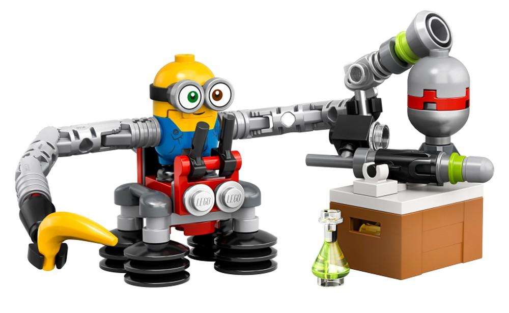 LEGO Minions 30387 Bob Minion with Robot Arms 2