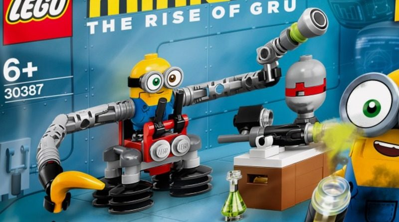 LEGO Minions 30387 Bob Minion with Robot Arms featured