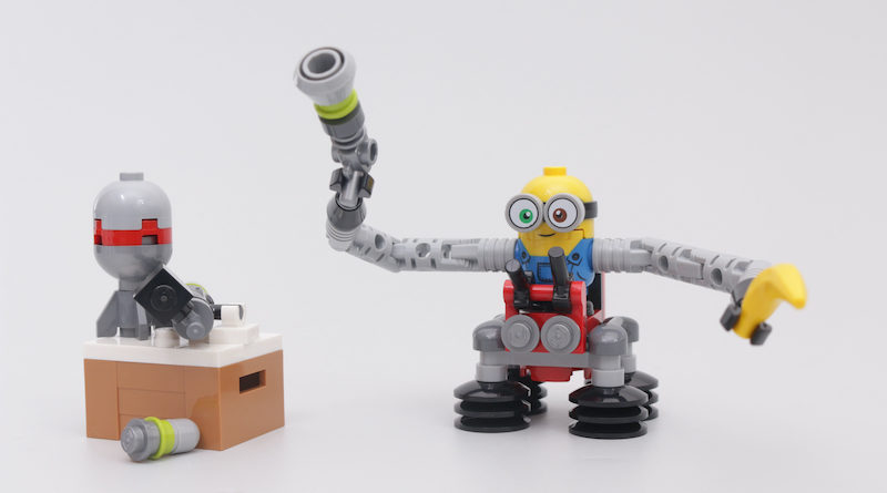 LEGO Minions 30387 Bob Minion with Robot Arms gift with purchase review title