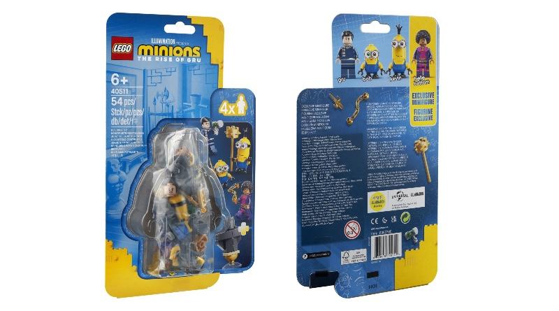 LEGO Minions 40511 Minions Kung Fu Training Featured
