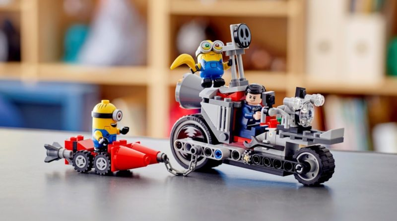 LEGO Minions 75549 Unstoppable Bike Chase featured