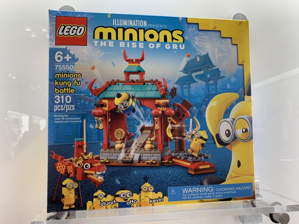 LEGO Minions 75550 Minions Kung Fu Battle 1