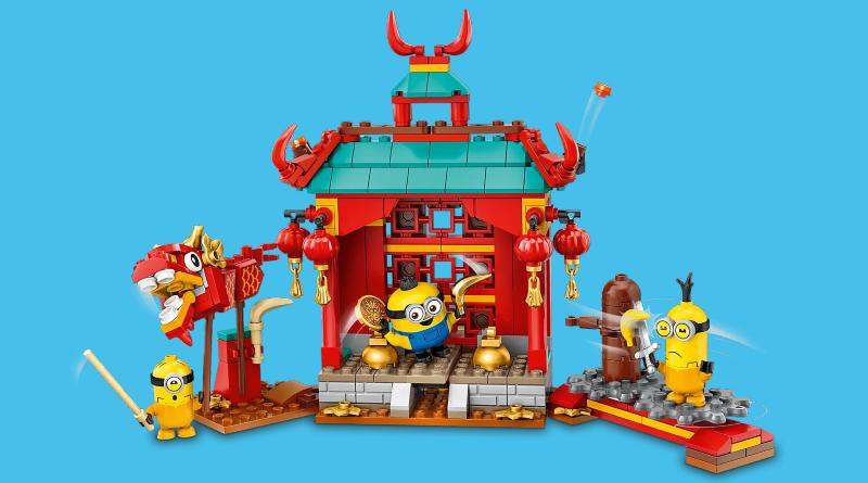 LEGO Minions 75550 Minions Kung Fu Battle Featured