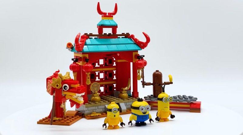 LEGO Minions 75551 MInions Kung Fu Battle