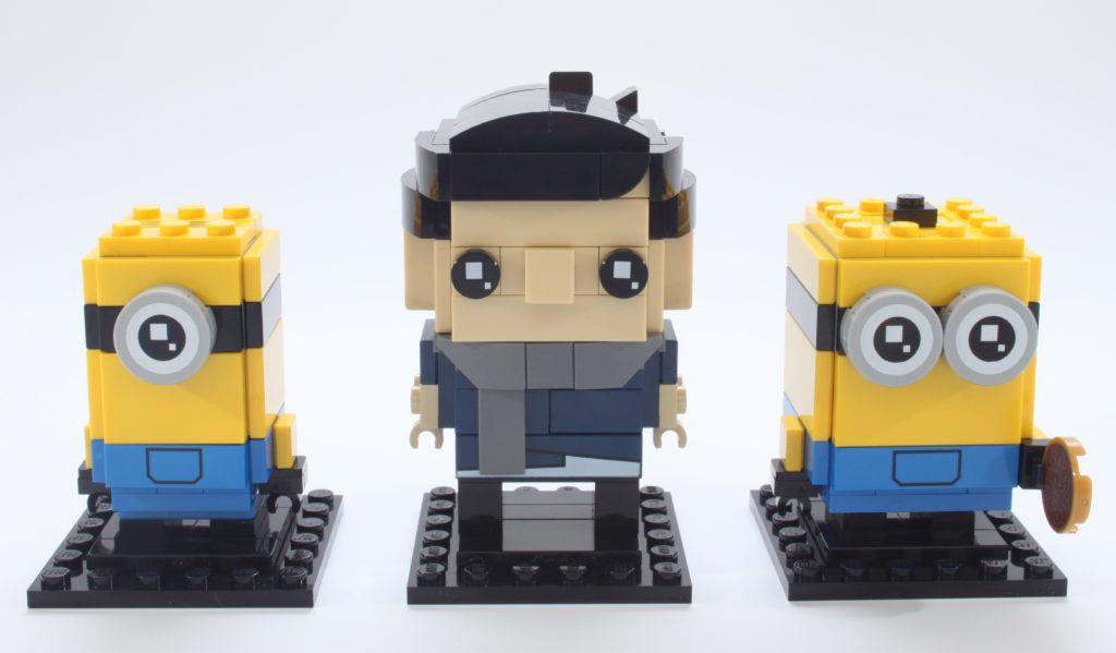 LEGO Minions BrickHeadz 40420 Gru Stuartand Otto Review 1