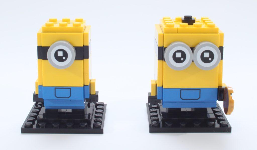LEGO Minions BrickHeadz 40420 Gru Stuartand Otto Review 10 New
