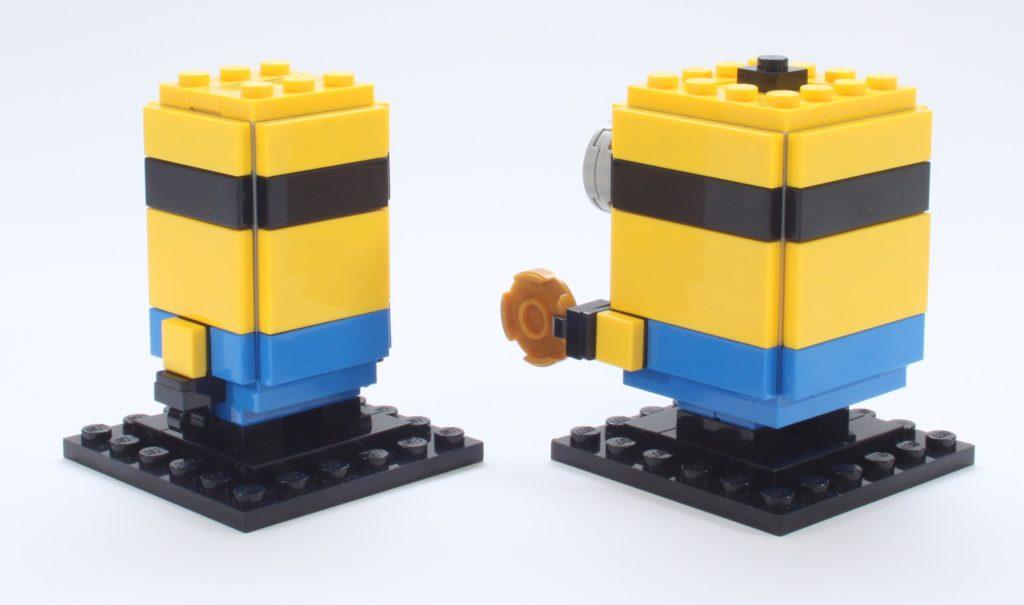 LEGO Minions BrickHeadz 40420 Gru Stuartand Otto Review 15 New