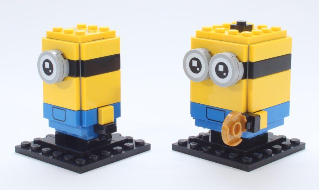 LEGO Minions BrickHeadz 40420 Gru Stuartand Otto Review 17 New